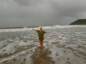 Swimming in the Arabian Sea